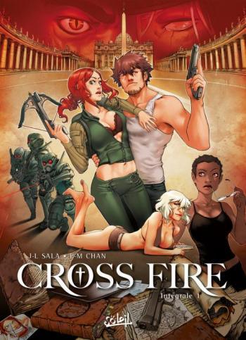 Couverture de l'album Cross Fire - INT. Intégrale - Tome 1 à 4