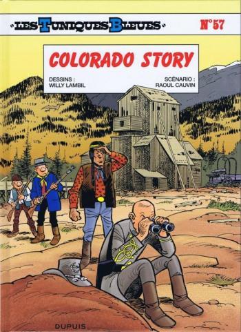 Couverture de l'album Les Tuniques bleues - 57. Colorado story