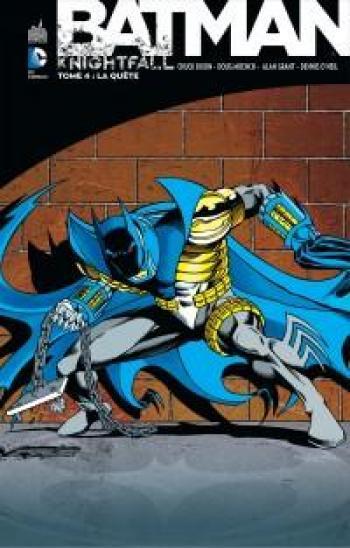 Couverture de l'album Batman - Knightfall - 4. La quête