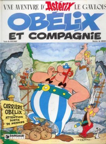 Couverture de l'album Astérix - 23. Obélix et Compagnie