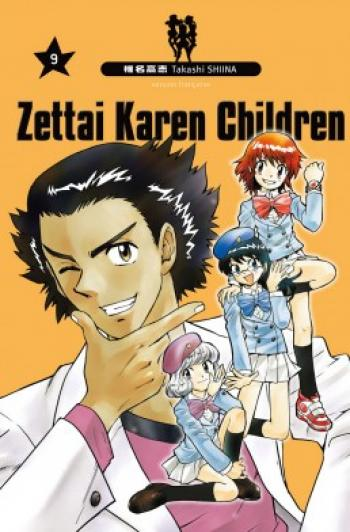 Couverture de l'album Zettai Karen Children - 9. Tome 9