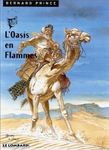 Couverture de l'album Bernard Prince - 5. L'Oasis en flammes