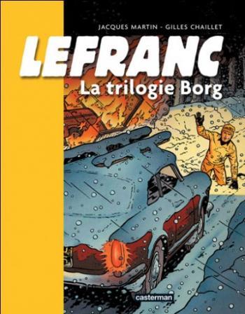Couverture de l'album Lefranc - HS. La trilogie borg