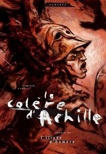 Couverture de l'album La colère d'Achille (One-shot)