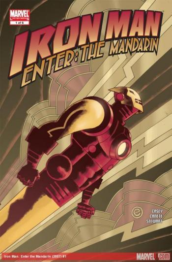 Couverture de l'album Iron Man - Au commencement était le Mandarin (One-shot)