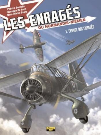 Couverture de l'album Les Enragés du Normandie-Niemen - 1. L'envol des enragés