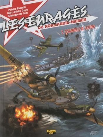 Couverture de l'album Les Enragés du Normandie-Niemen - 2. L'escadrille de l'espoir