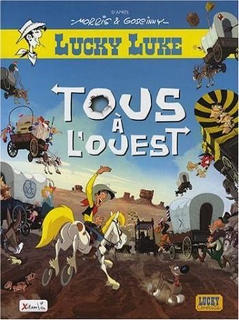 Couverture de l'album Lucky Luke - HS. La BD du film