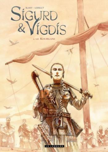 Couverture de l'album Sigurd et Vigdis - 2. Le kourgane