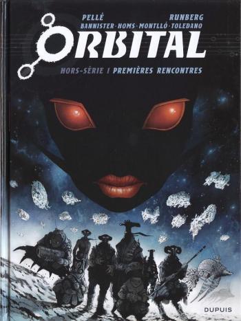 Couverture de l'album Orbital - HS. Premières rencontre - Tome 1