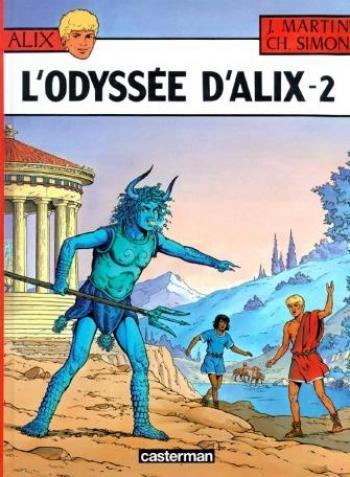 Couverture de l'album L'Odyssée d'Alix - 2. Tome 2