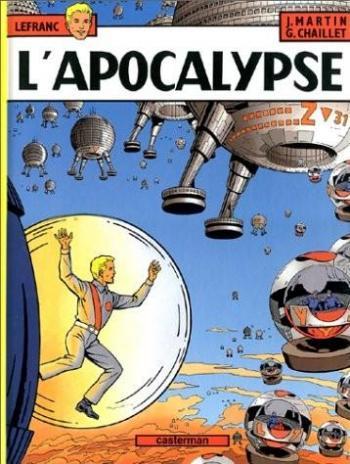 Couverture de l'album Lefranc - 10. L'Apocalypse