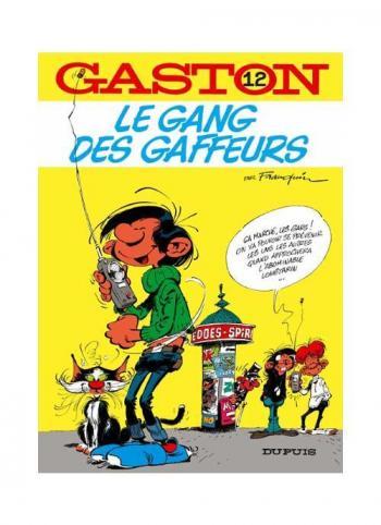 Couverture de l'album Gaston (Série dite classique) - 12. Le gang des gaffeurs
