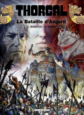 Couverture de l'album Thorgal - 32. La Bataille d'Asgard