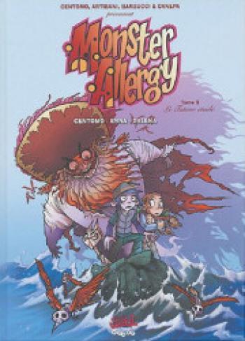 Couverture de l'album Monster Allergy - 5. Le tuteur étoilé
