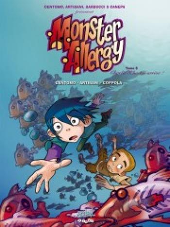 Couverture de l'album Monster Allergy - 6. Charlie Schuster arrive !