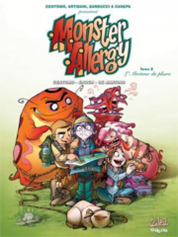 Couverture de l'album Monster Allergy - 8. L'abriteur du phare