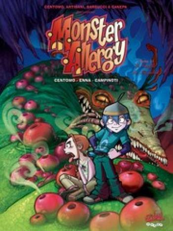 Couverture de l'album Monster Allergy - 11. Le souffle du Mugalak