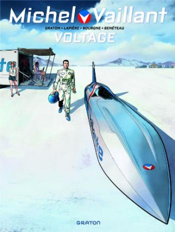 Couverture de l'album Michel Vaillant - Saison 2 - 2. Voltage