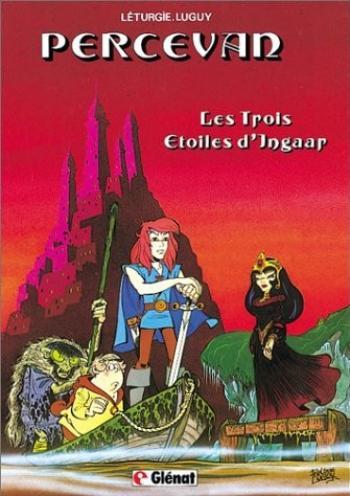 Couverture de l'album Percevan - 1. Les Trois étoiles d'Ingaar
