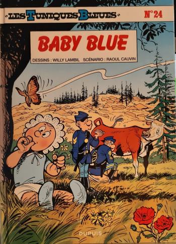 Couverture de l'album Les Tuniques bleues - 24. Baby blue