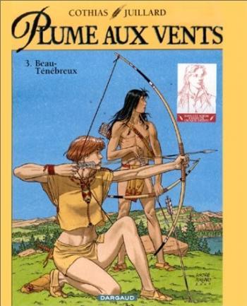 Couverture de l'album Plume aux vents (Les 7 Vies de l'Épervier - Deuxième Époque) - 3. Beau-Ténébreux