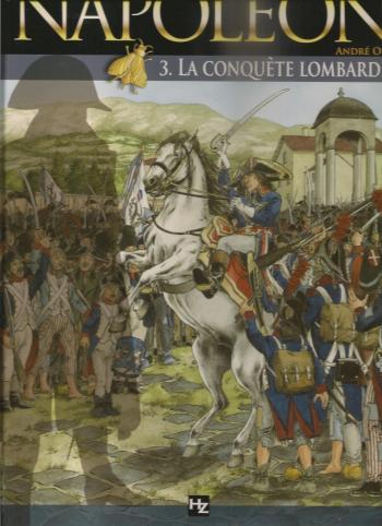 Couverture de l'album Napoléon (Osi) - 3. La Conquête lombarde