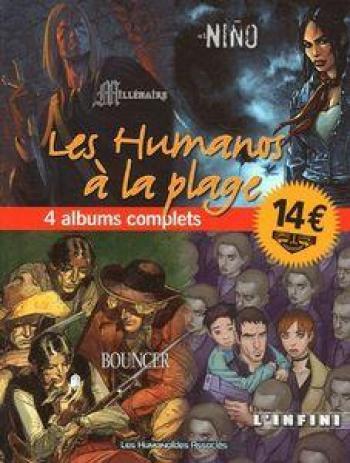 Couverture de l'album Les Humanos à la plage - 1. Tome 1
