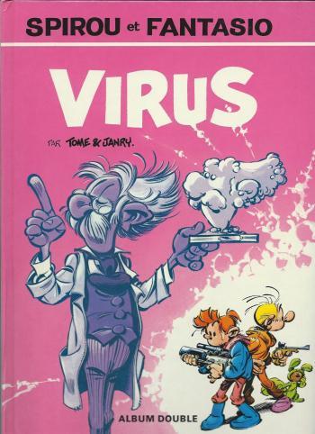 Couverture de l'album Spirou et Fantasio - HS. Virus / Aventure en Australie