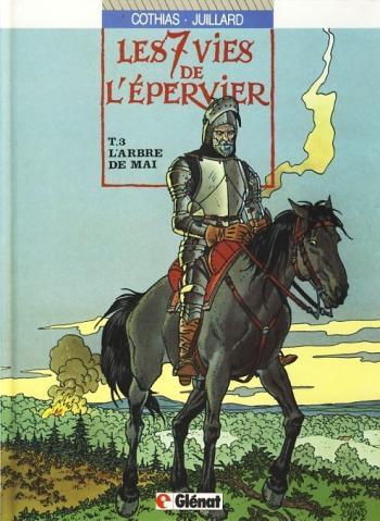 Couverture de l'album Les 7 Vies de l'Épervier - 3. l'Arbre de mai