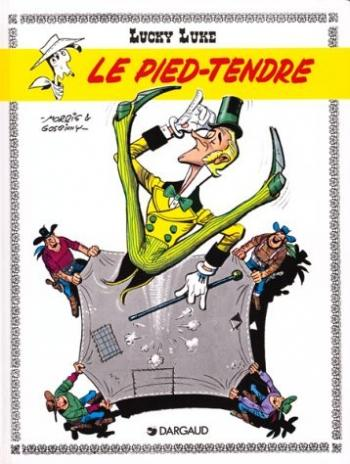 Couverture de l'album Lucky Luke - 33. Le Pied tendre