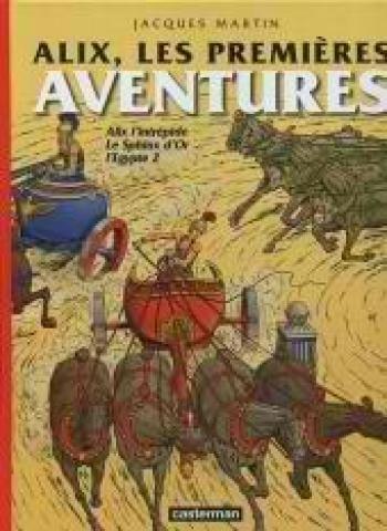 Couverture de l'album Alix, les aventures - 7. Alix, les premières aventures