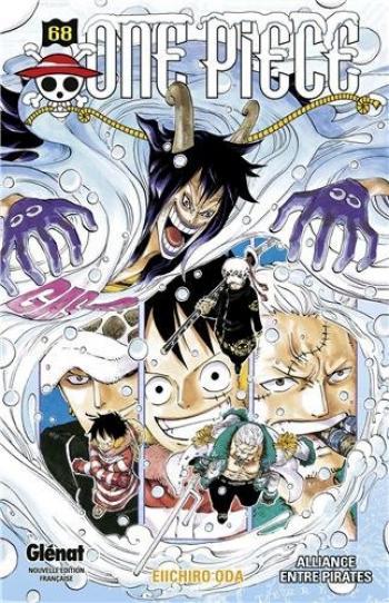 Couverture de l'album One Piece - 68. Alliance entre pirates