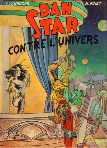 Couverture de l'album Dan Star contre l'univers (One-shot)