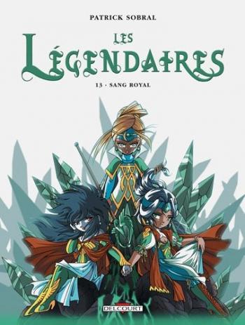 Couverture de l'album Les Légendaires - 13. Sang Royal