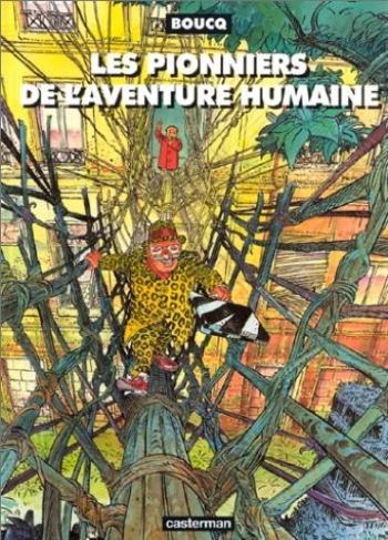 Couverture de l'album Les pionniers de l'aventure humaine (One-shot)