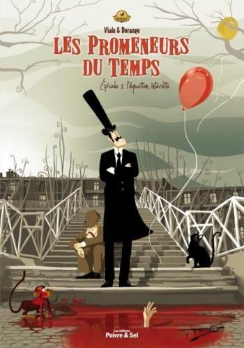 Couverture de l'album Les Promeneurs du temps - 1. L'equation interdite