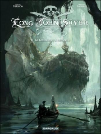 Couverture de l'album Long John Silver - 3. Le Labyrinthe d'émeraude