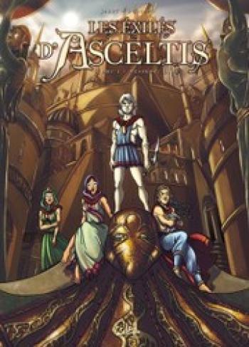 Couverture de l'album Les exilés d'Asceltis - 1. Le messager blanc