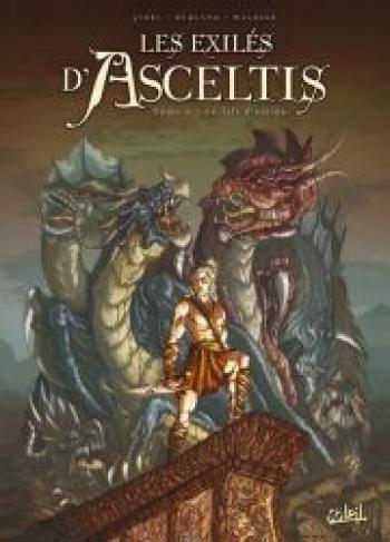 Couverture de l'album Les exilés d'Asceltis - 2. Le fils d'Obion