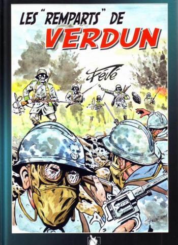"""Couverture de l'album Les """"Remparts"""" de Verdun (One-shot)"""