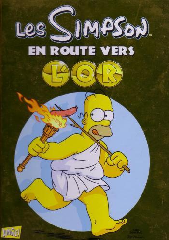Couverture de l'album Les Simpson (Jungle) - HS. En route vers l'or