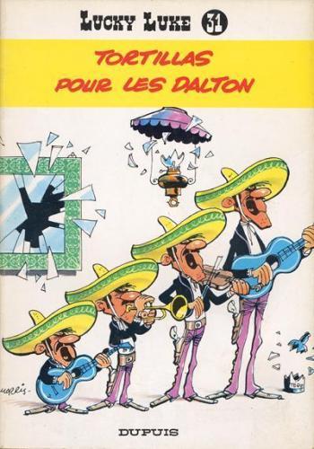 Couverture de l'album Lucky Luke - 31. Tortillas pour les Dalton