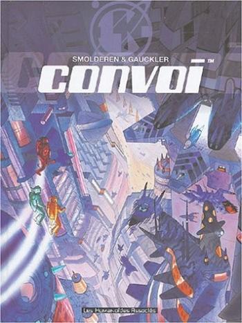 Couverture de l'album Convoi - Les Aventures de Karen Springwell - INT. Intégrale - Tomes 1 à 4