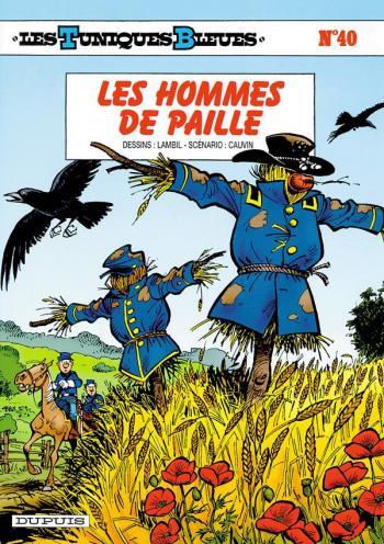 Couverture de l'album Les Tuniques bleues - 40. Les Hommes de paille