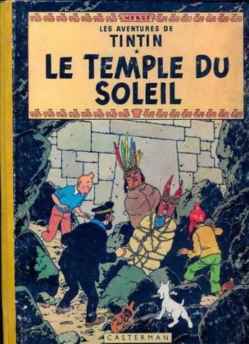 Couverture de l'album Les Aventures de Tintin - 14. Le temple du soleil