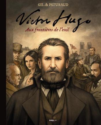 Couverture de l'album Victor Hugo - Aux frontières de l'exil (One-shot)