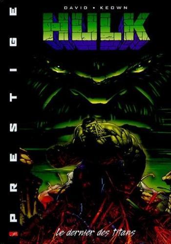 Couverture de l'album Hulk -Le Dernier des titans (One-shot)
