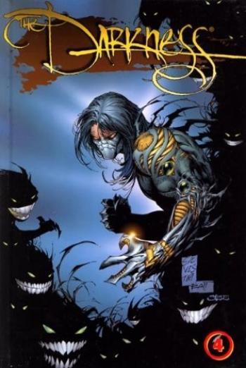 Couverture de l'album The Darkness (Edition USA) - INT. The Darkness - Tome 4