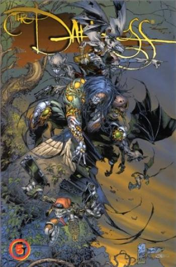 Couverture de l'album The Darkness (Edition USA) - INT. The Darkness - Tome 5
